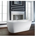 Hellisay - 1800 x 800mm Oval Double Ended Freestanding Bath